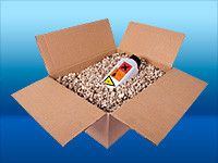 Vermiculite  as a packaging material